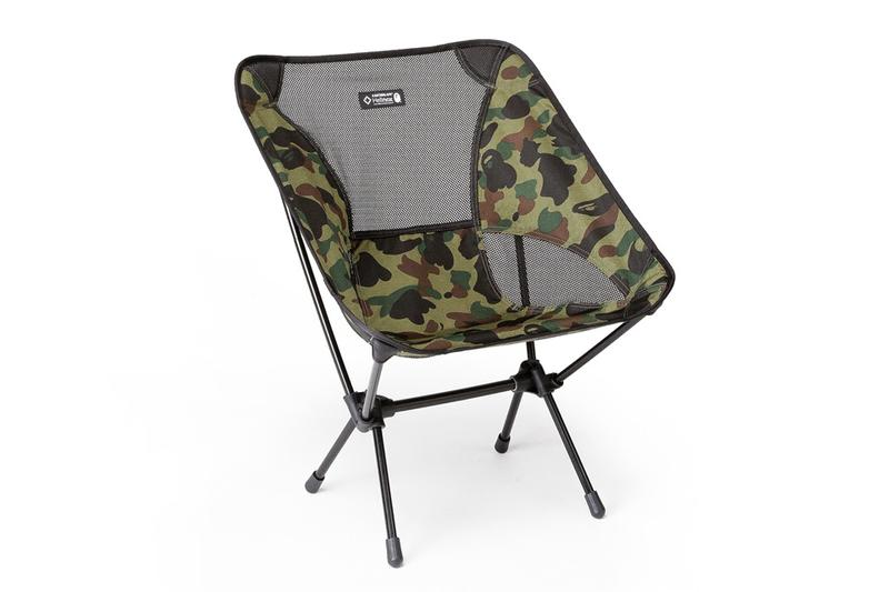HELINOX x BAPE Outdoor Collection 2019 spring summer lookbooks chairs tents 1st camo ape heads