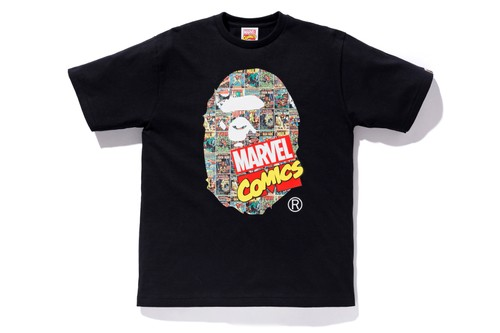 BAPE's Marvel Comics Collaboration Re-Releasing This Weekend