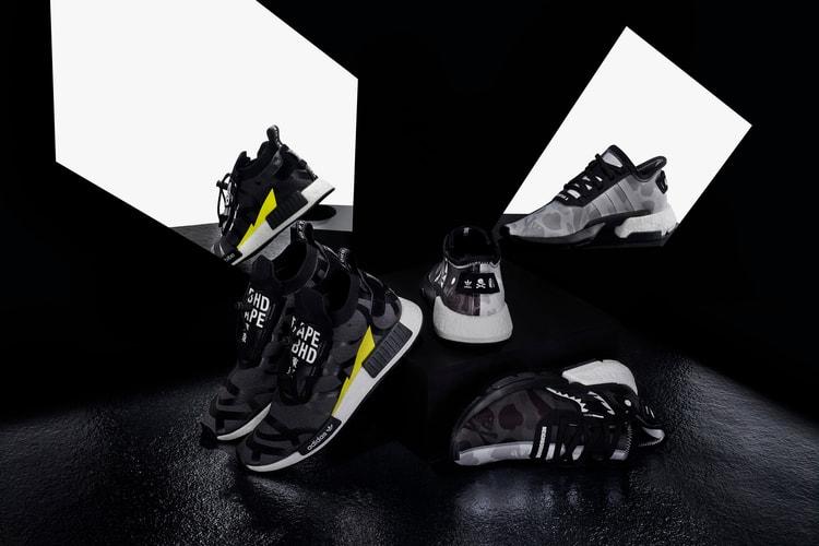 "newest collection 56f0c 66c4b BAPE x NEIGHBORHOOD x adidas Originals ""NHBAPE® POD S-3.1"" and NMD"