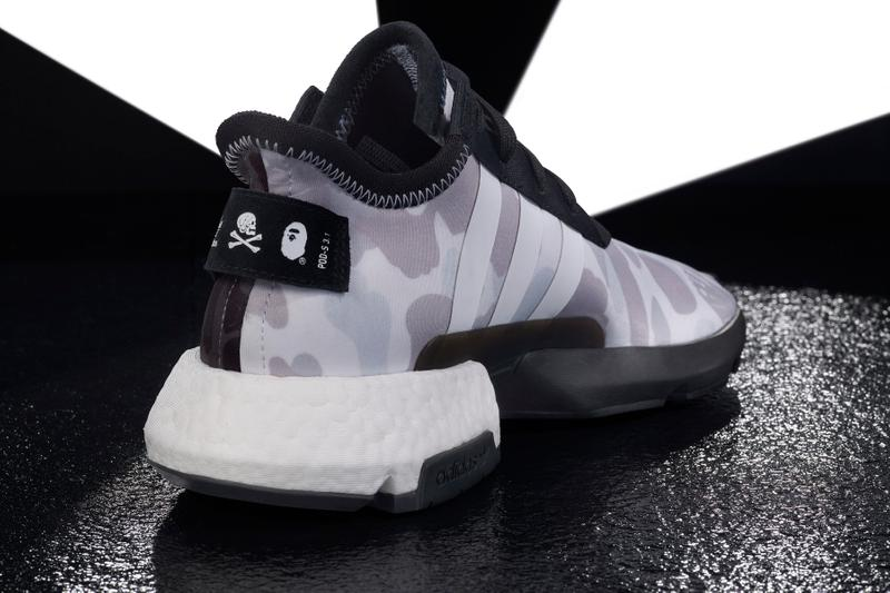 b8d819e820f03 BAPE x NEIGHBORHOOD x adidas Originals NHBAPE POD S-3.1   NMD STLT Wider  Release