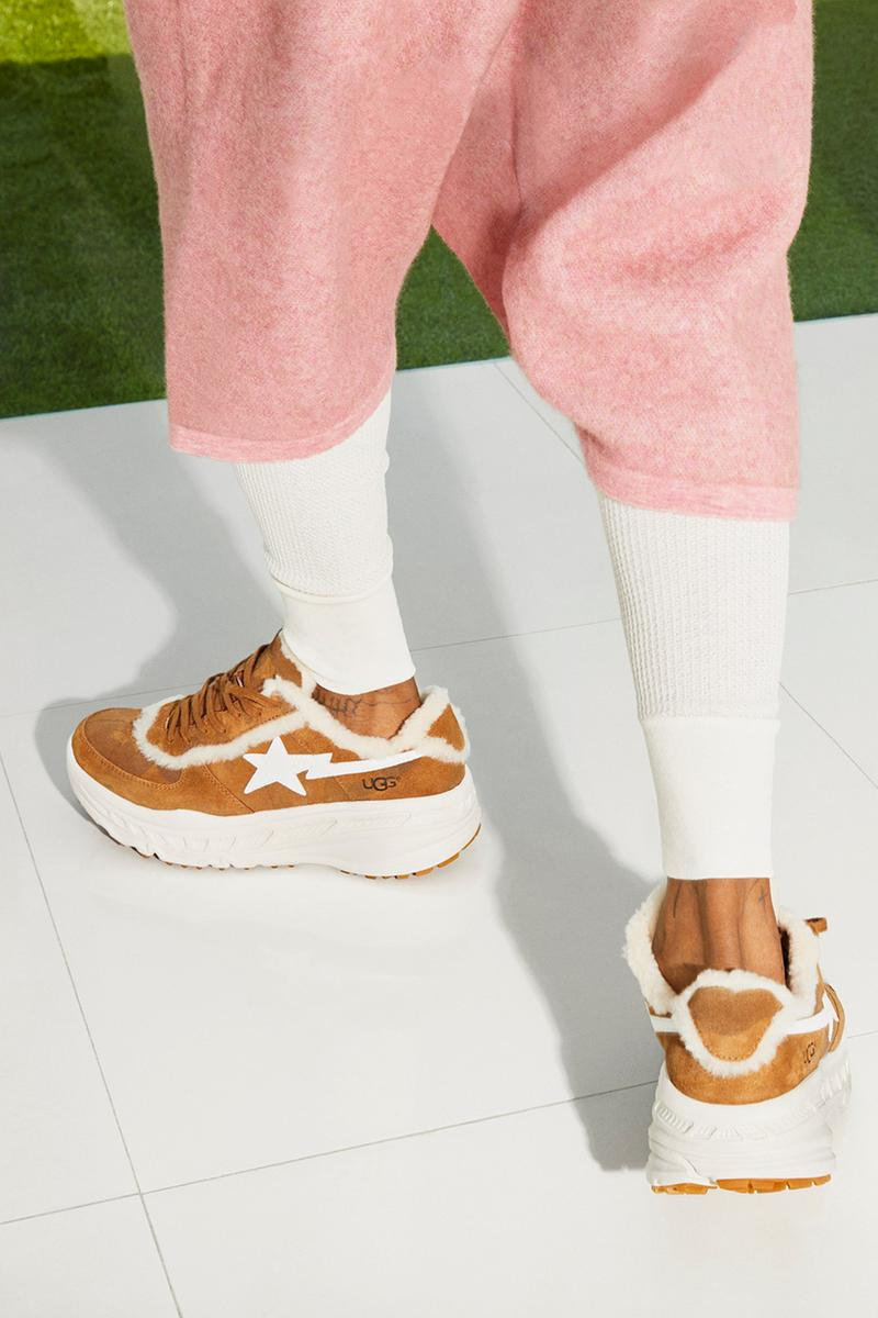 UGG x BAPE SS19 Collection apparel shoes boots suede sheep lookbook lil wayne a bathing ape