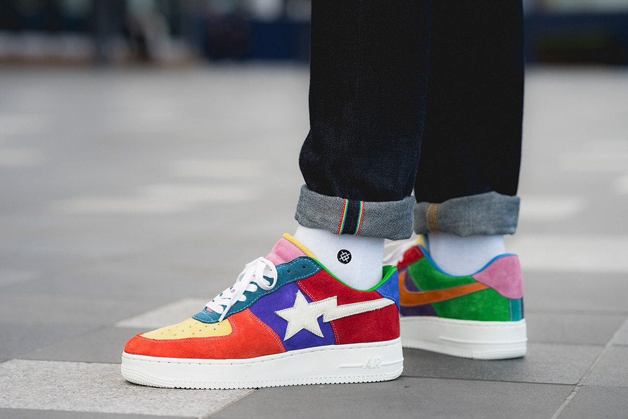 BespokeIND Nike Air Force 1 'What The