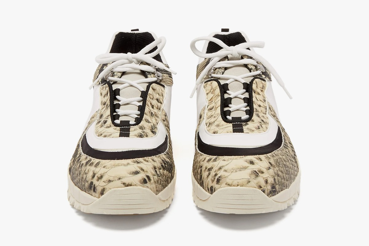 Best Luxury Sneakers Spring 2019 Palm Angels Gucci Prada Rick Owens off white Nike Comme des Garcons Homme Plus Off White Maison Margiela Vetements Reebok TAKAHIROMIYASHITA TheSoloist. Salomon S/Lab