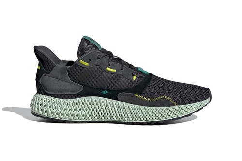 "adidas ZX 4000 4D ""Carbon"" Receives Official Release Date"