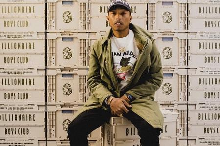 Pharrell's Billionaire Boys Club Unveils Limited Edition Crates