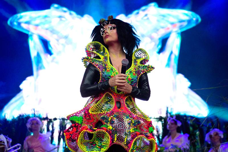 "Björk Revisited Her Old School to Play DJ Set Bjork avant-garde pop iceland high school Death Grip ""Guillotine"""