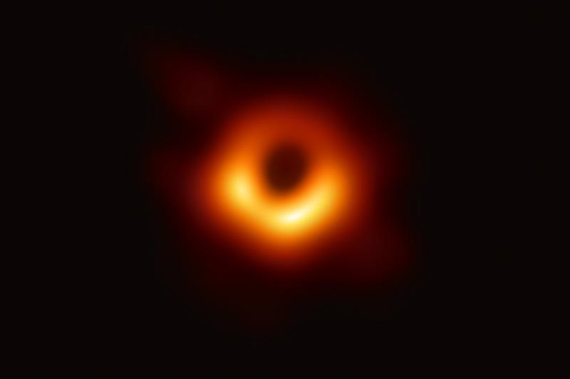 First Ever Black Hole Photo Revealed Astronomers NSF National Science Foundation Event Horizon