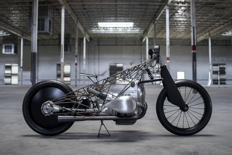 bmw boxer engine revival cycles birdcage motorcyle 2019 handbuilt show austin texas