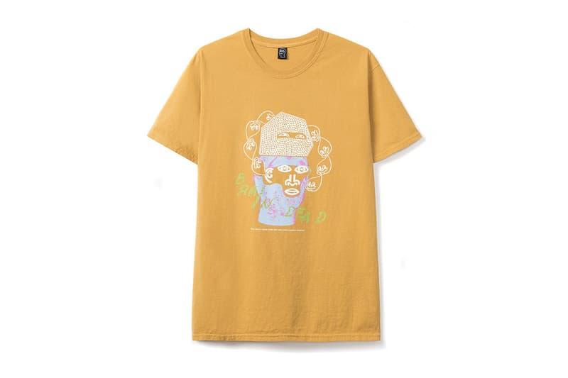 Brain Dead Summer 2019 Range pink yellow graphics jackets shorts t shirts accessories retaW