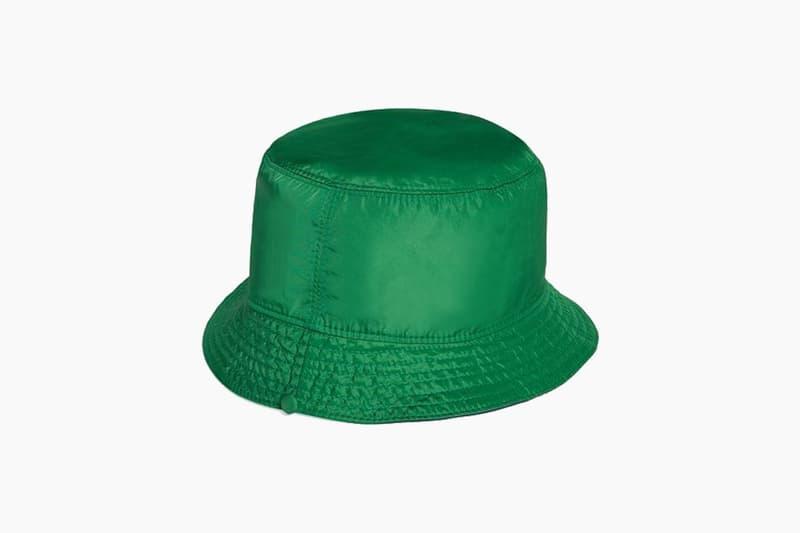 c0e552c82b5596 GUCCI Green Reversible Nylon Bucket Hat price release where to buy 2019
