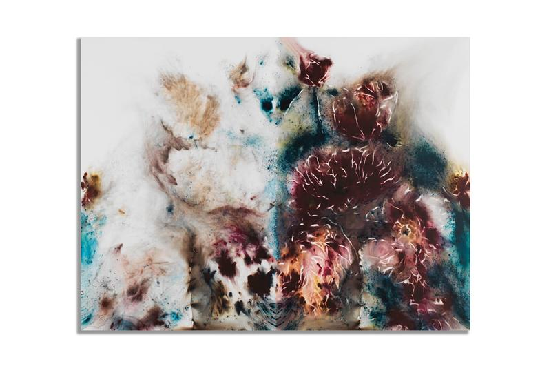 cai guo qiang avant arte yin yang peonies limited edition print artworks editions collectibles