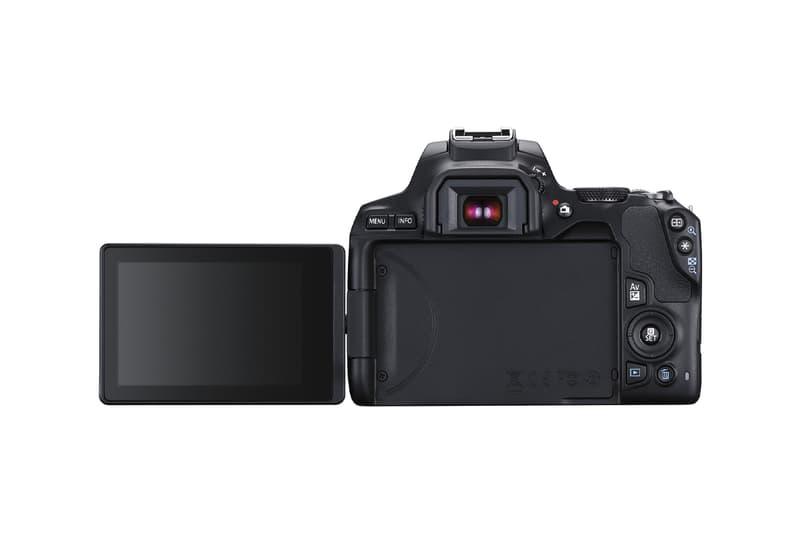Canon Releases the EOS Rebel SL3 camera dslr prosumer photography 24.1-megapixel APS-C sensor DIGIC 8 processor 3.0 inch flip-around touchscreen vlogging selfies 4k recording Dual Pixel autofocus