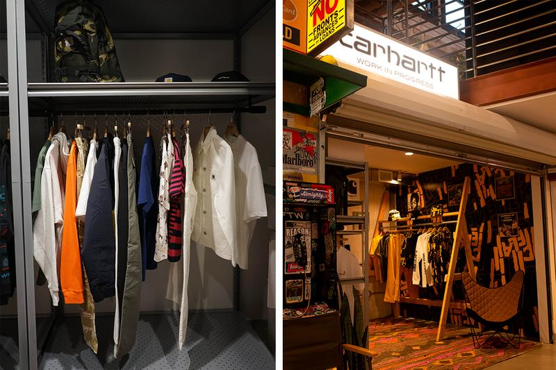 Carhartt WIP Shop-In-Shop at Bodega LA work in progress pop up shop capsule workwear streetwear info information
