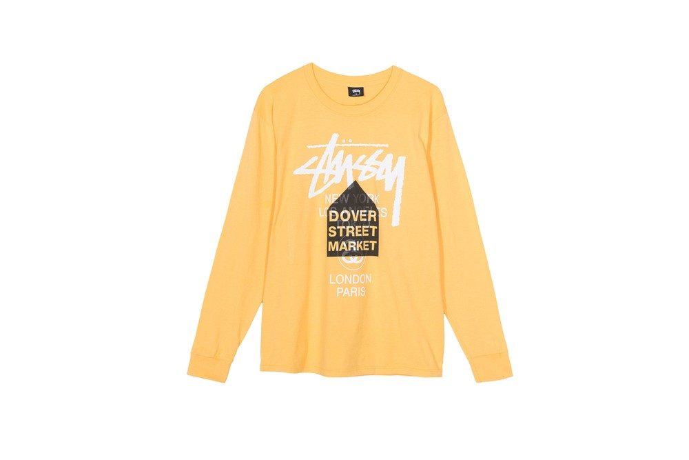 """Stüssy x Dover Street Market Los Angeles """"Word Tour Spring '19"""" Tees where to buy price release 2019 collaboration"""