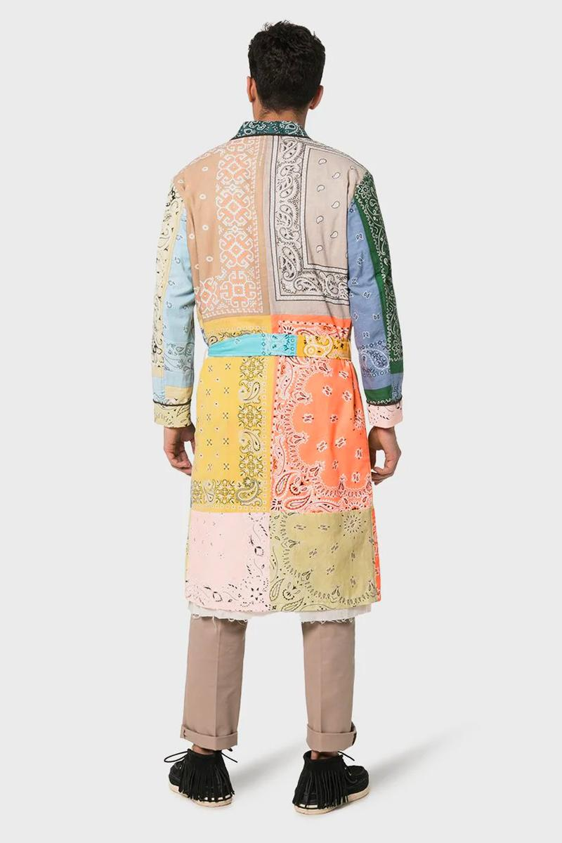 Children Of The Discordance Bandana Patch Overcoat release info drop date BROWNS coat jacket 13332494 / COTDCO707 price patchwork