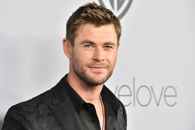 Watch Chris Hemsworth Vandalizing His Co-Stars Avengers Endgame Posters