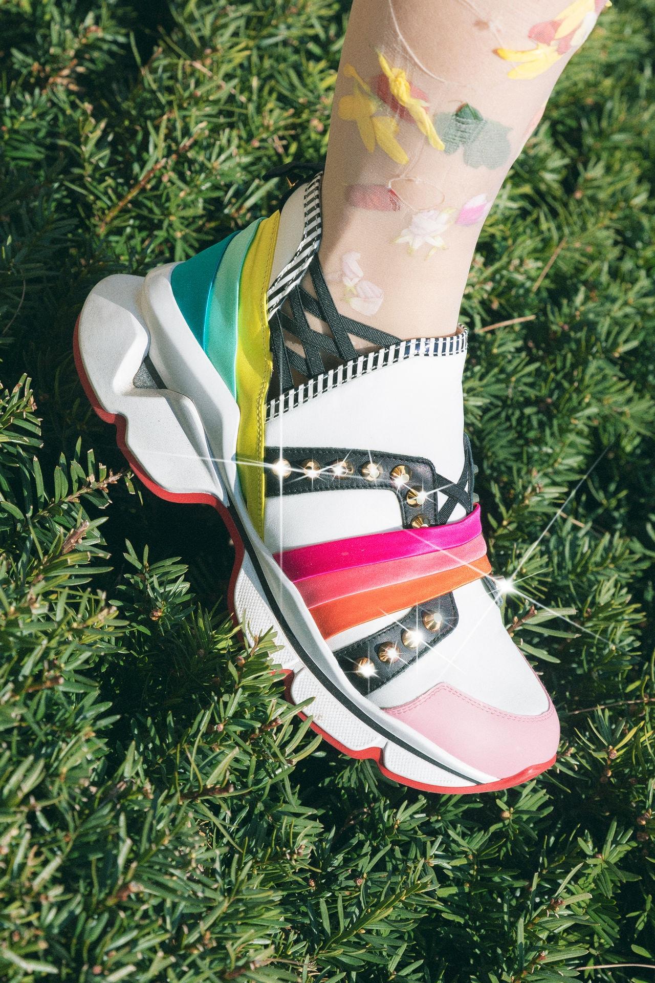 Christian Louboutin KOMI I ZION. T Run Loubi Run studded sneakers
