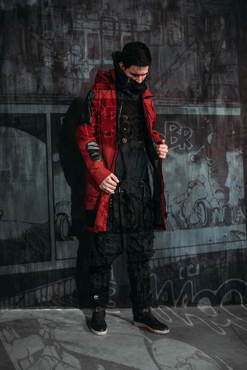 Techwear Brand Cloudburst New Editorial