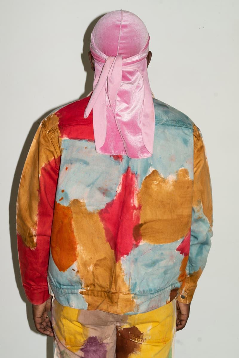 come tees weather diaries lookbook collection release date info buy drop denim jacket pants jeans sonya sombreuil