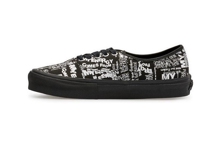 81e1f0d3f8 COMME des GARÇONS CDG   Vans Reunite for All-Over Print Authentic · Footwear