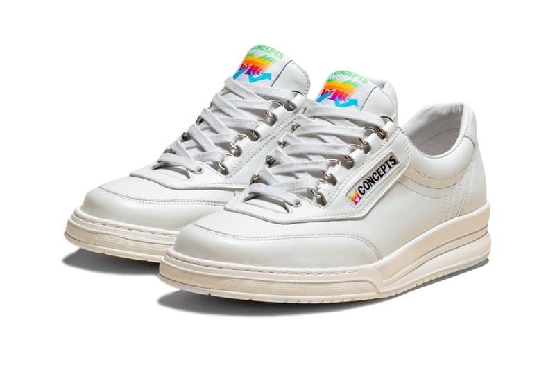 Concepts x Mephisto Apple Sneaker Release Info steve jobs date price information april 19 $390 usd
