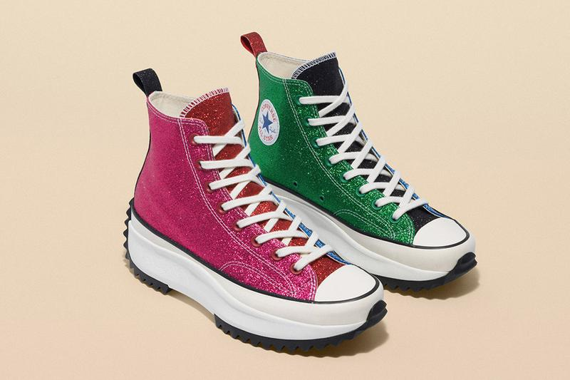 Converse x JW Anderson Run Star Hike Chuck 70 Glitter Info Information Shoes Trainers Kicks Sneakers Boots Footwear Cop Purchase Buy First Closer Look
