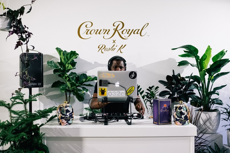 Here's What Happened at the Crown Royal x Roshi K Launch Event