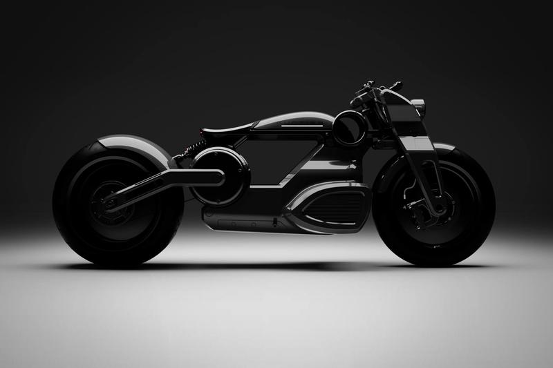 'Tron' Meets 'Bladerunner' With the New Curtiss Zeus Electric Bobber Motorcycle