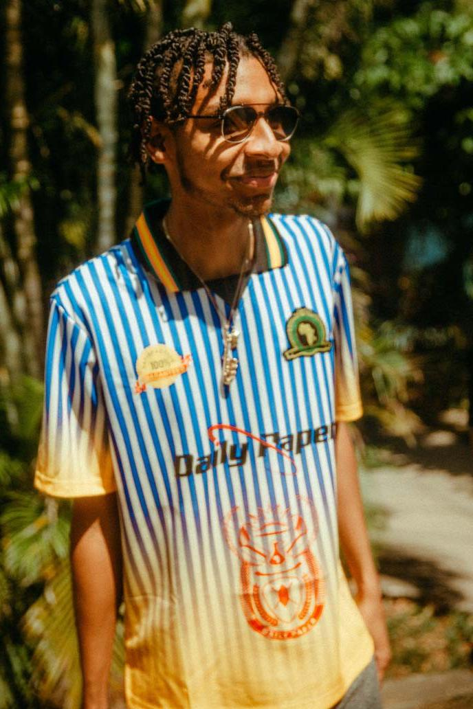 Daily Paper's Latest Capsule Is Inspired by Vintage Football Kits
