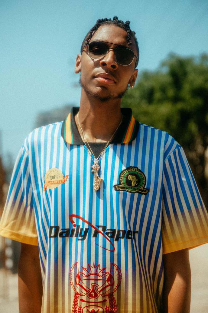 Daily Paper Vintage Football Kits Capsule SS19 lookbooks football jerseys Amsterdam
