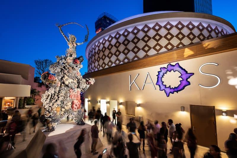 damien hirst demon with bowl bronze statue sculpture artwork kaos dayclub night club