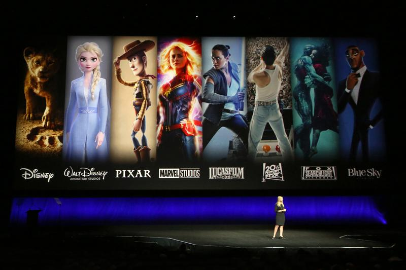 Disney CEO Bob Iger Gives First Look Disney+ Marvel cinematic universe Wandavision avengers falcon and the winter soldier Marvel sstudios