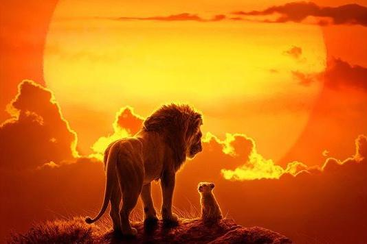 Disney Shares New Photos from 'The Lion King' simba pride rock TIMON  PUMBAA donald glover beyonce seth rogen entertainment weekly