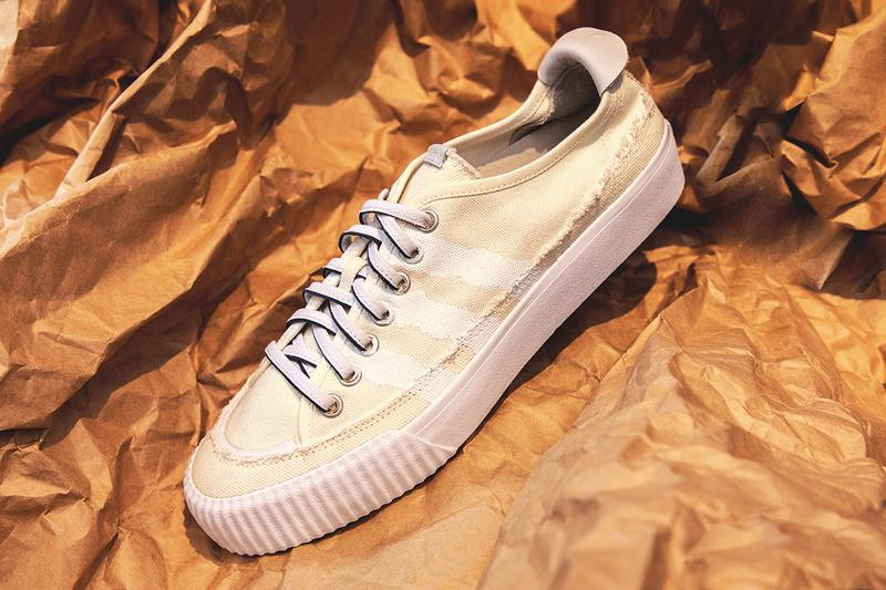 Donald Glover adidas Originals Lacombe Nizza Continental 80 Release Information Closer Look Details Up Close off-white sneaker childish gambino footwear trainer buy cop purchase how to stockists