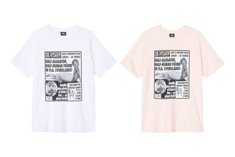 Dr. Octagon Stüssy Capsule Release Hoodie T shirt Dover Street Market Dr. Octagonecologyst Kool Keith Dan the Automator DJ Qbert