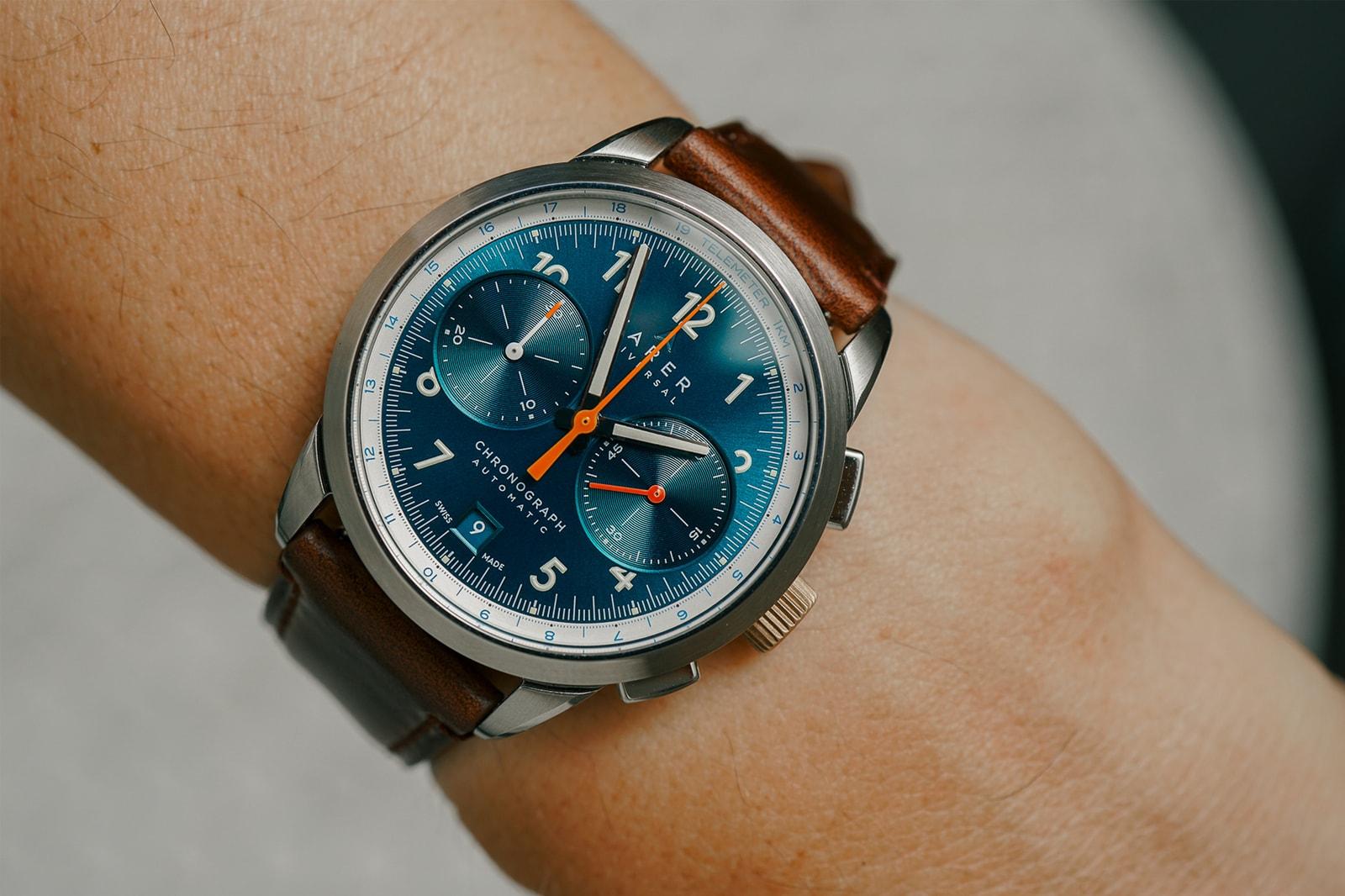 Eight Independent Watch Brands From Windup Watch Fair Monta Oris Halios Autodromo watches wrist watch clocks timekeeping style micro brands