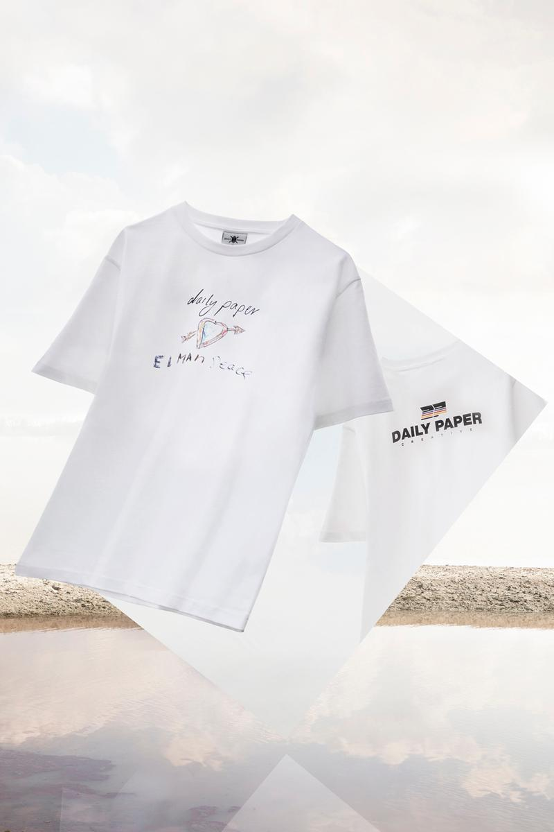 Elman Peace x Daily Paper T-Shirt Capsule Collaboration collection release date info buy graphic april 2019