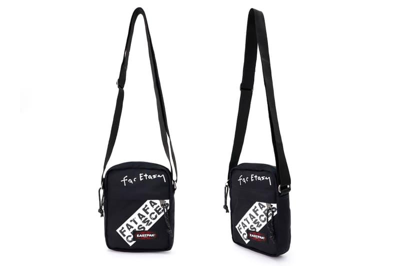 FACETASM EASTPAK Tape Capsule Bum Shoulder Backpack Cordura Black