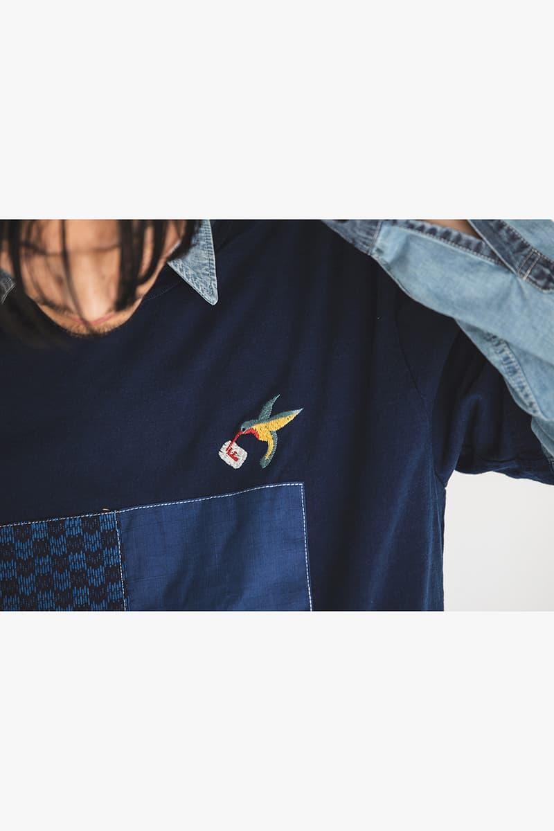 FDMTL Spring/Summer 2019 Collection Lookbook japan ss19 japan denim boro patchwork