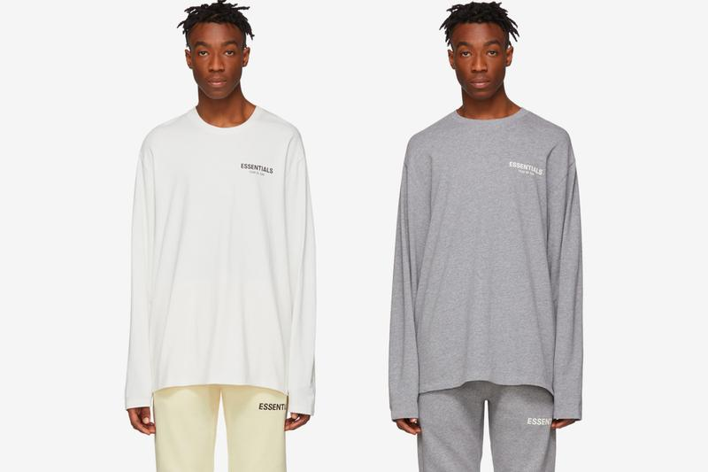 Fear of God ESSENTIALS Spring Summer 2019 Collection jerry Lorenzo ss19