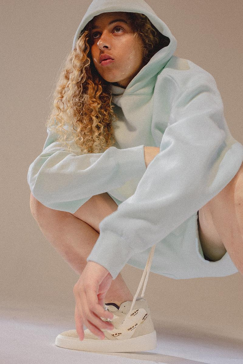 Fear of God Essentials Spring Summer 2019 SS19 Collection Drop Date Release Information oversized t-shirt long-sleeve crewneck sweatshirt hoodie sweatshort sweatpant limited run clothing Jerry Lorenzo