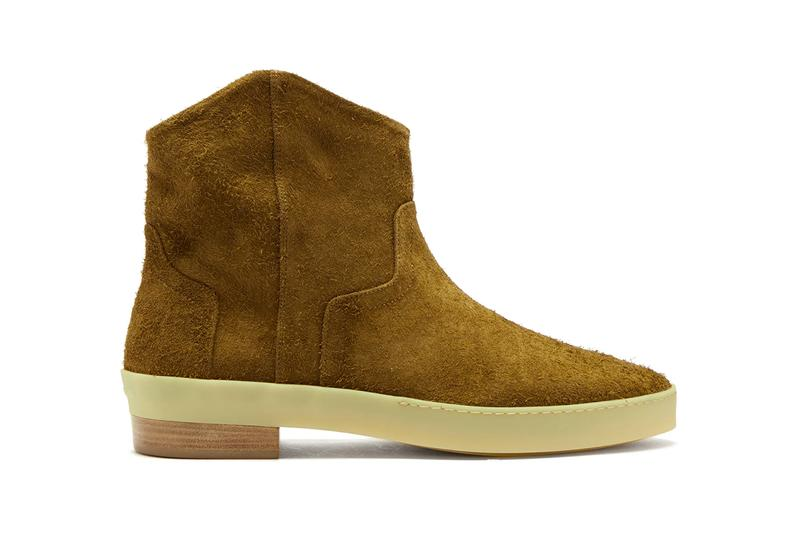 Fear of God Sante Fe Brushed Suede Western Boots Spring Summer 2019 SS19 Collection Lookbook Piece Italian Crafted Jerry Lorenzo Release Information Drop Date Cop