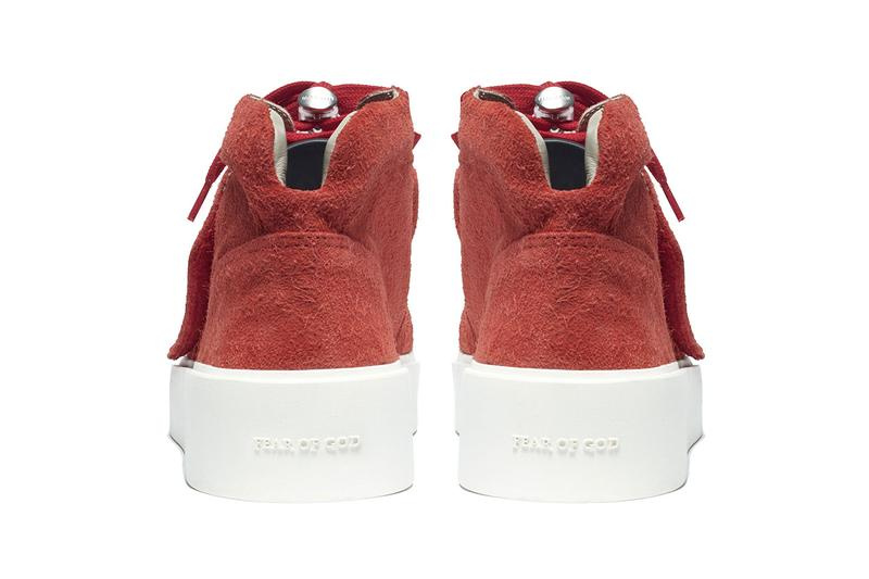 Fear of God SS19 101 Lace-Up & Skate Mid Shoes sixth collection spring summer 2019 release info colorways suede