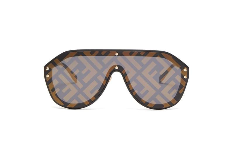 64cc862763dd4 Fendi FF-Logo Aviator Sunglasses where to buy price release monogram