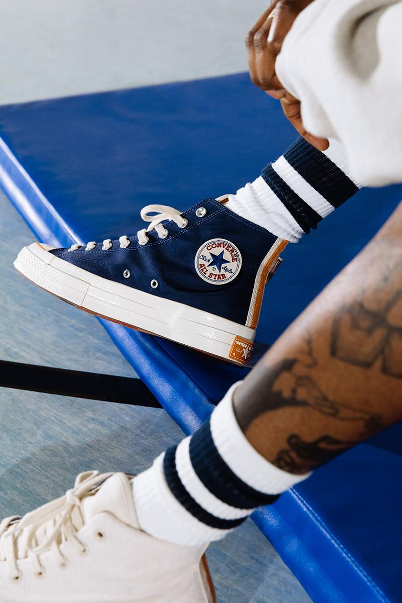 Footpatrol Converse Collection Chuck 70 Jack Purcell Collaboration Collegiate Loopback Wool Fleece Release Drop Date Where To Cop Information Lookbook Sweater Hoodie