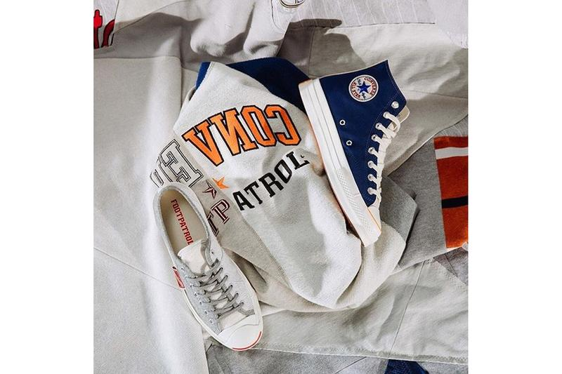 1327af7132aab6 Footpatrol Teases Upcoming Converse Collaboration Chuck Taylor All Star  Jack Purcell