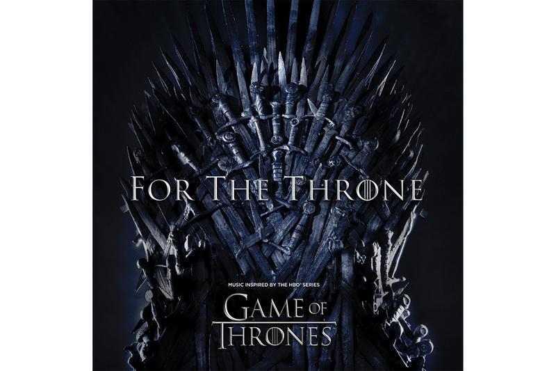 Game of Thrones For The Throne Album A$AP Rocky Chloe X Halle Ellie Goulding Jacob Banks James Arthur Joey BadA$$ Lennon Stella Lil Peep Maren Morris Matthew Bellamy Mumford & Sons Rosalía feat. A.CHAL SZA The Lumineers The National The Weeknd Travis Scott Ty Dolla $ign X Ambassadors HBO Columbia Records Release Information Details News
