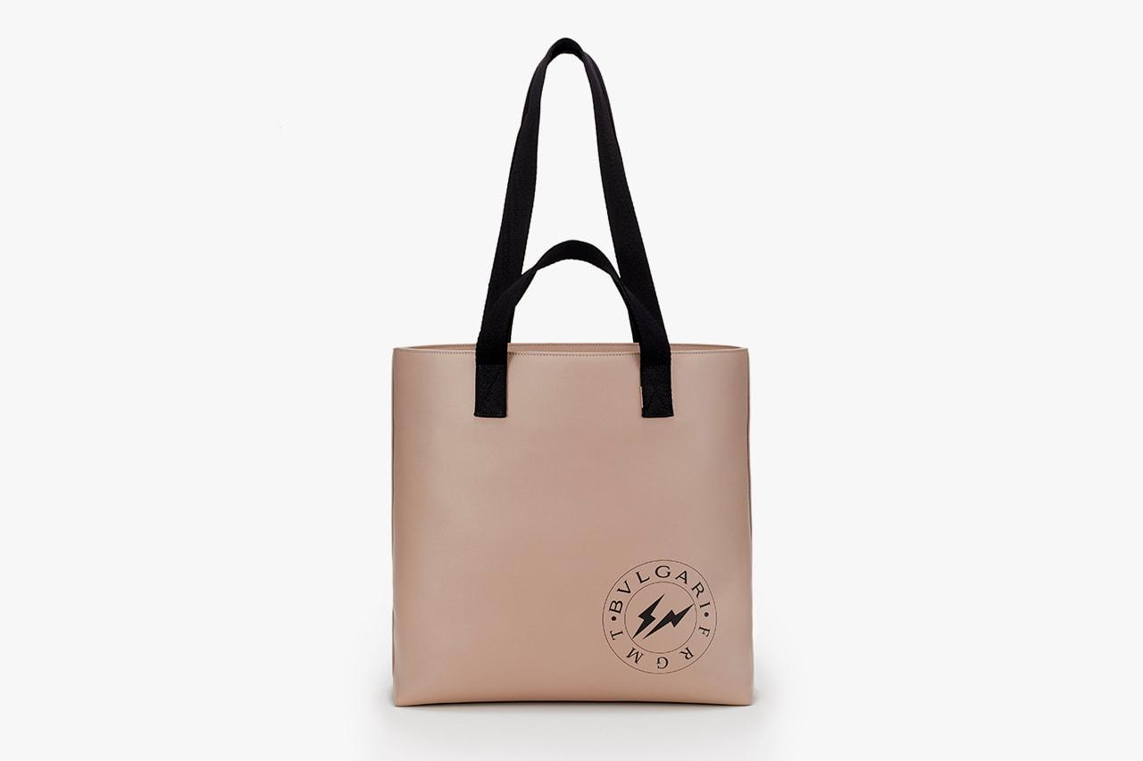 fragment design x BVLGARI Bag & Accessory Collaboration collection hiroshi fujiwara release date price info