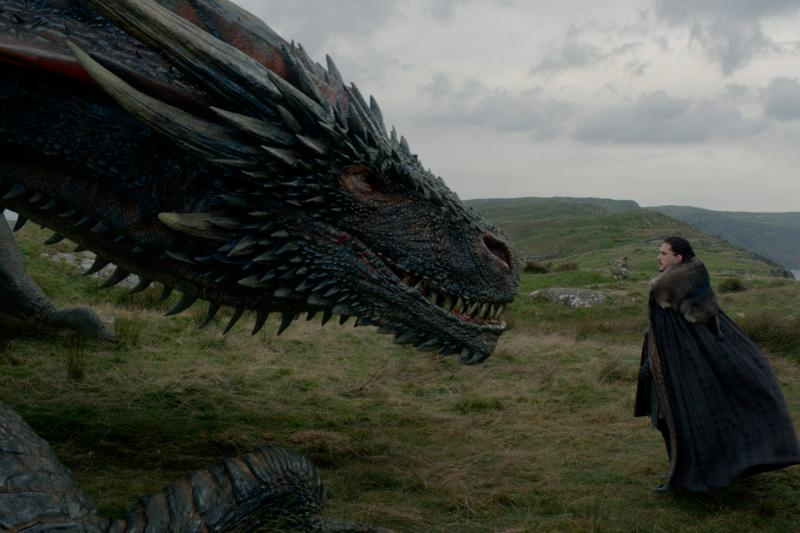Arya and Jon Reunite in New Game of Thrones Promo dragons hbo