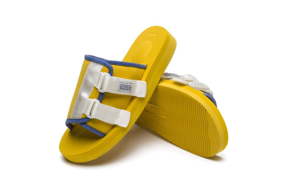 golf wang tyler the creator collaboration suicoke saandal ss19 spring summer 2019 april 19 drop release date exclusive white blue suede slip on slide dover street market beams web store site